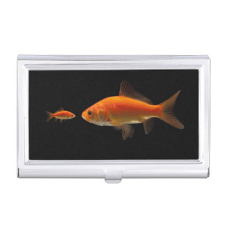 Goldfish Cajas De Tarjetas De Negocios