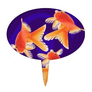 Goldfish Cake Picks
