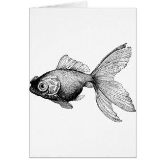 Goldfish Stationery Note Card