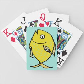 Goldfish Cartoon Cards Bicycle Playing Cards