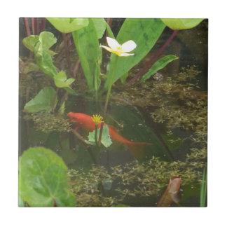 Goldfish Ceramic Tile