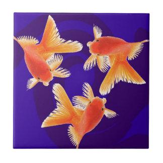 Goldfish Ceramic Tiles