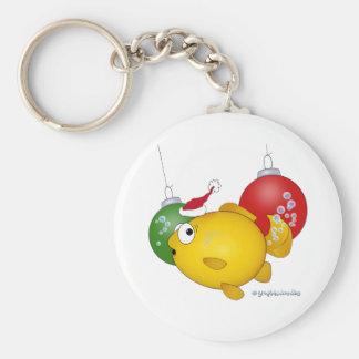 Goldfish Christmas flatus event Keychains