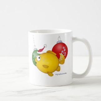 Goldfish Christmas flatus event Mug
