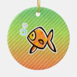 Goldfish Christmas Tree Ornaments