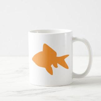 Goldfish Classic White Mug