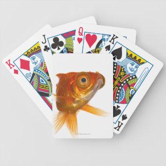 Goldfish con los ojos grandes 3 barajas de cartas
