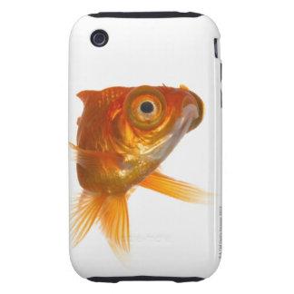 Goldfish con los ojos grandes 3 iPhone 3 tough fundas