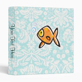 Goldfish; Cute 3 Ring Binder