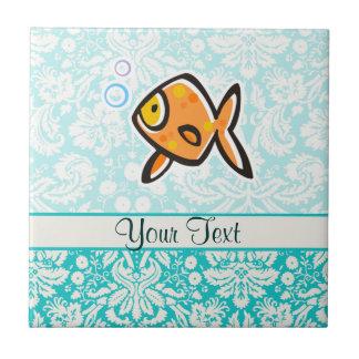 Goldfish; Cute Ceramic Tile