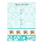 Goldfish; Cute Custom Invitations