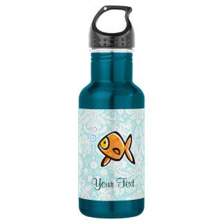 Goldfish; Cute 18oz Water Bottle