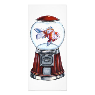 Goldfish de BubbleGum Tarjeta Publicitaria