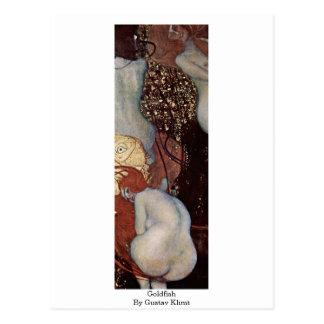 Goldfish de Gustavo Klimt Tarjeta Postal