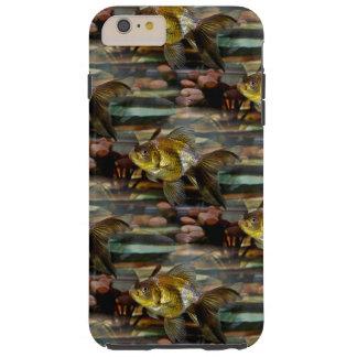Goldfish de lujo de la cola de milano funda para iPhone 6 plus tough
