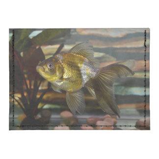 Goldfish de lujo de la cola de milano tarjeteros tyvek®
