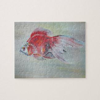 Goldfish de Ryukin Rompecabezas Con Fotos