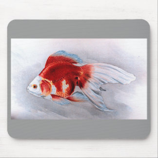 Goldfish de Ryukin Alfombrillas De Raton