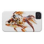 Goldfish del cometa de la cola de milano del calic Case-Mate iPhone 4 protectores