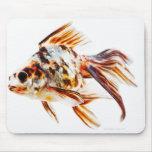 Goldfish del cometa de la cola de milano del calic tapetes de raton