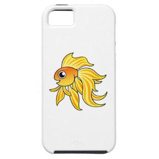 Goldfish del dibujo animado funda para iPhone 5 tough
