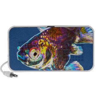 Goldfish del disco iPhone altavoz