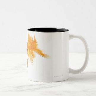 Goldfish dos que se cruza taza de dos tonos