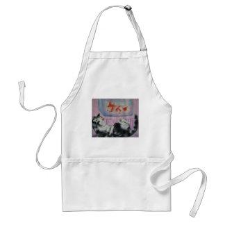 goldfish dream apron