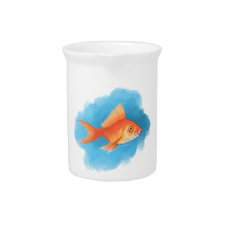Goldfish Drink Pitchers
