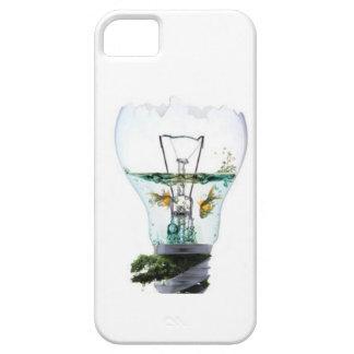 Goldfish en el caso de Iphone de la bombilla iPhone 5 Case-Mate Protectores