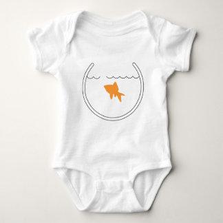 Goldfish Escape Infant Baby Bodysuit