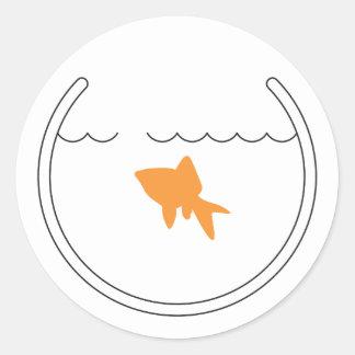 Goldfish Escape Sticker
