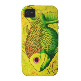 Goldfish famoso Case-Mate iPhone 4 carcasas