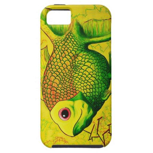 Goldfish famoso iPhone 5 Case-Mate cobertura