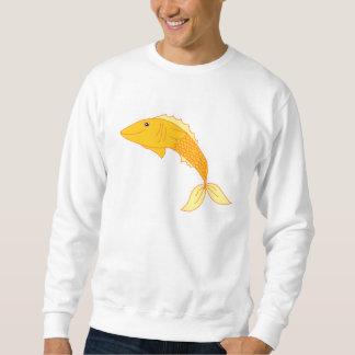 Goldfish feliz sudadera