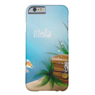 Goldfish Find Treasure in Ocean Barely There iPhone 6 Case
