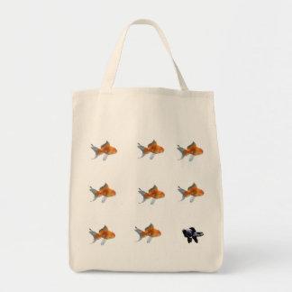 goldfish, goldfish, goldfish, goldfish, goldfis… bolsa tela para la compra