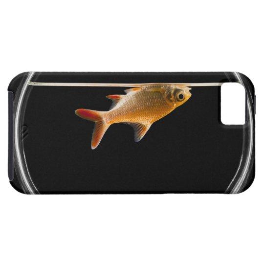 Goldfish in bowl 2 iPhone SE/5/5s case