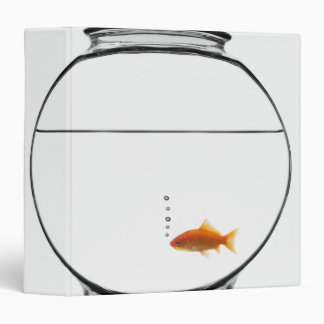Goldfish in bowl binder