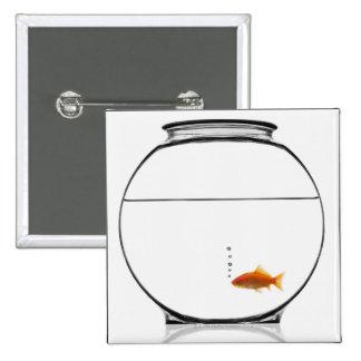 Goldfish in bowl pin