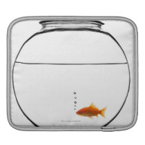 Goldfish in bowl sleeve for iPads