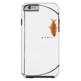 Goldfish in bowl tough iPhone 6 case
