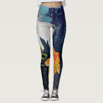 Goldfish in Japan Leggings