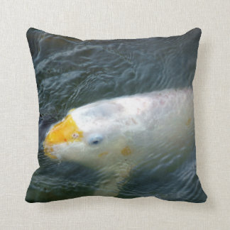 Goldfish In Lake Throw Pillow