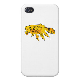 Goldfish Cases For iPhone 4