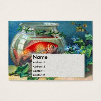 Goldfish & Ivy Victorian Trade Card