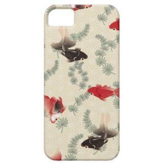 Goldfish japonés iPhone 5 carcasas