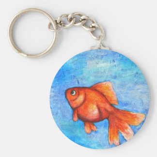 Goldfish Key chain Red Goldfish Key chain Pet Fish