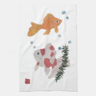 Goldfish Kitchen Towel