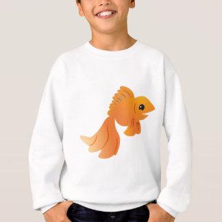 goldfish lindo del oro sudadera